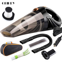 GRIKEY 4800Pa Small Car Vacuum Cleaner 120W Portable Vacuum Cleaner Auto Large Capacity Washing Vacuum Cleaner Car автопылесос