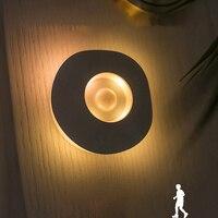 LED Nachtlicht Sensor Nacht Lampe Schrank Schrank Lampe Motion Sensor Batterie Powered Wireless Küche Schlafzimmer Nacht Licht