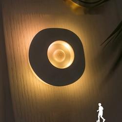 LED Night Light Sensor Night Lamp Closet Cabinet Lamp Motion Sensor Battery Powered Wireless Kitchen Bedroom Night Light