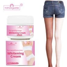 Отбеливающий крем, отбеливающий для лица, Осветляющий крем для тела, Отбеливание подмышки, крем для ног, колени, отдельные части тела, белый ...