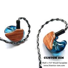Auricular intrauditivo T4 personalizado con Cable, para controladores Quad de teléfono, con Cable OCC de 1,2 m, MMCX de 0,78mm, 2 pines