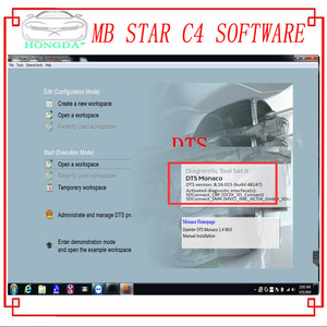 Image 5 - Newest Comprehensive 2020.09 MB STAR  C4 C5 6 VCI  full Software XENTRYSCN/DASEPC/WIS/Starfinder/EWA/VEDIAMO/DTS Monaco HDD/SSD