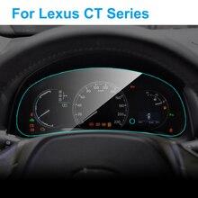 Для Lexus CT200H CT серия интерьерная Автомобильная приборная панель Защитная мембрана для приборной панели защитная пленка из ТПУ автомобильные аксессуары