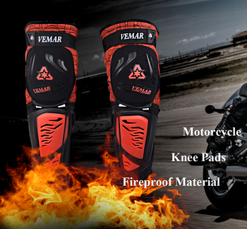 Motorcycle Knee pads Moto Motocross Racing Shin Guards Full protection Gear Riding Knee Protector Pads Motorcycle Knee Slider 4