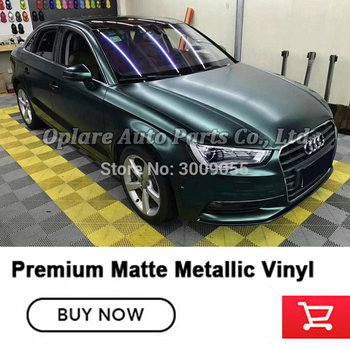 high Matte Metallic Forest green wrapping film Full Vehicle Wraps & Graphics car wrapping roll True case High end car film