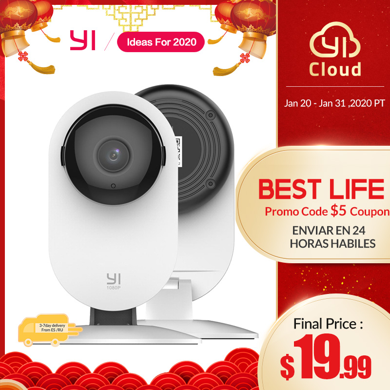 YI 1080p Home Camera Wireless IP Security Surveillance System (US/EU Edition) image