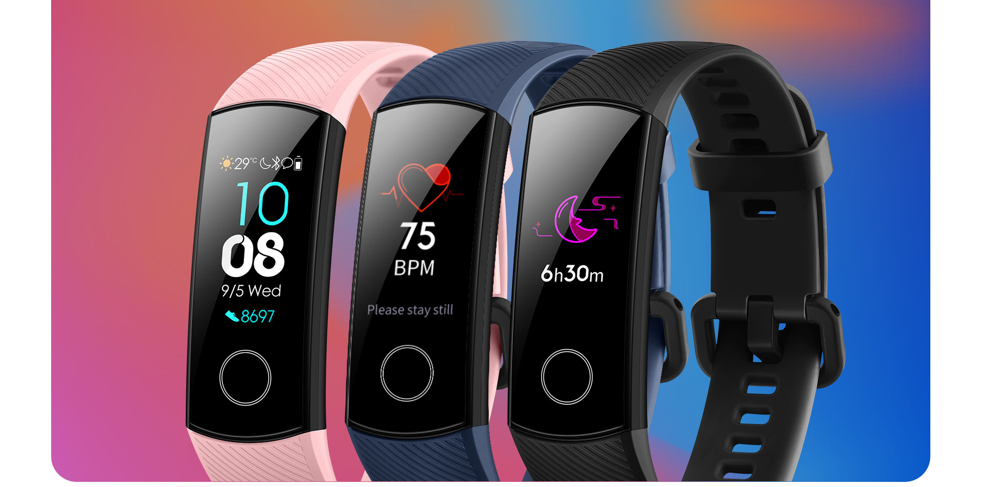 H856af71dc6384ceaa9f410c690a1bc722 global version Honor band 5 smart band AMOLED heart rate fitness sleep swimming sport blood oxygen tracker