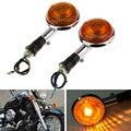 Motorfiets Richtingaanwijzer Indicator Amber Blinker Side Marker Lamp Voor Yamaha V-MAX1200/V-Star/Virago XVS400 /650/1100 Etc