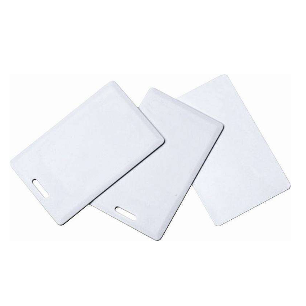 (50PCS/LOT) 125Khz RFID Rewritable Smart Cards Clamshell T5557 Thick Proximity For Access Control H ID Copier