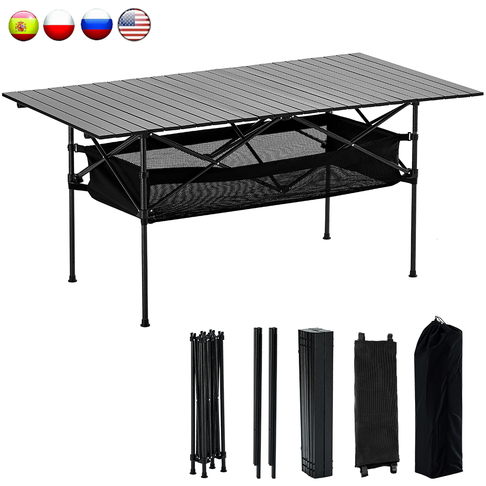 Manstool MTT01 Outdoor Camping Table 50kg Aluminum Alloy Desk BBQ Foldable Tables Ultralight Picnic Table Folding Outdoor Gear