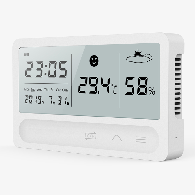 Image 3 - PANDUN simple smart home digital electronic temperature and  humidity meter household thermometer indoor dry hygrometerTemperature  Instruments