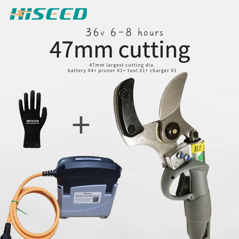 47mm Largest Electric Pruning Shears, Electric Pruner, Electric Garden Shears, Electric Vineyard Scissors,orchard Pruning Shear