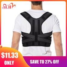 Aptoco postura corrector cinta ombro volta cinto de apoio para unissex cintas & suporta cinto de ombro postura dropshipping