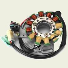 ATV Ignition Magneto Stator Coil For Yamaha Banshee 350 YFZ350 1987-1994 YZF 350 1988 1989 1990 1991 1992 1993 1994 2GU-85510-50 intake carbon fiber reed valve for yamaha banshee 350cc yzf350 yfz350 rz350 yz125 yzf 350 yz 250