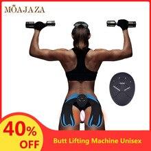 EMS Hip Trainer Muscle Stimulator Wireless Fitness Buttocks Butt Lifting Machine For Weight Loss Body Slimming Massager Women