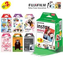 富士フイルムインスタックスミニ8ミニ9フィルム、ダブルパックフジインスタント写真のためのミニ9 8 7s 70 90 25カメラSP1 SP2 liplayプリンタ