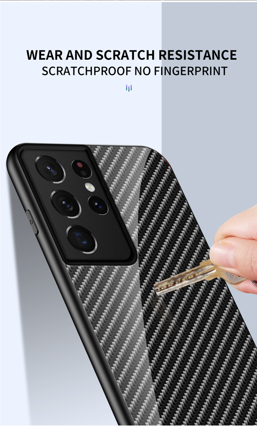 Galaxy S21 Ultra Carbon Fiber Case 12