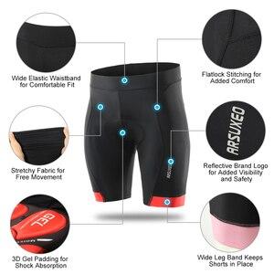Image 3 - Гелевые велосипедные шорты для горного велосипеда, мужские шорты для горного велосипеда MTB, летние быстросохнущие черные шорты для нижнего белья