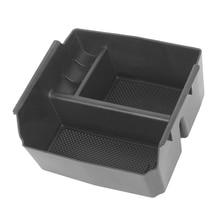 auto Car Interior Armrest Storage Box Non-Slip Mats ABS Plastic For Jeep Wrangler JK 2011-2017 car accessories
