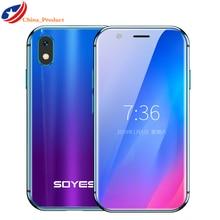 SOYES XS kleine mini 4G smartphone unterstützung Google play 3GB + 32GB 2GB + 16GB 3.0
