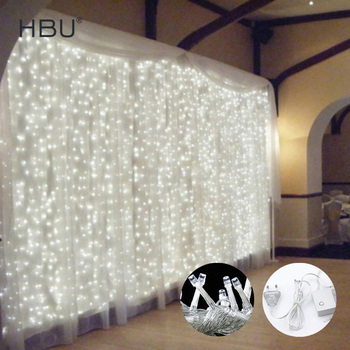 christmas string lights curtain decorations for home led String remote fairy Light bedroom/outdoor/ tree/Party/holiday light