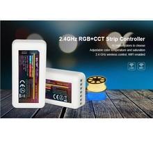 20 sztuk Mi boxer fut039 2.4G MiLight RGBWW (RGB + zimny biały + ciepły biały) kontroler RGB + CCT DC12 24V 2Ax5CH