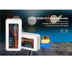 Image 1 - 20PCS Mi boxer fut039 2,4G MiLight RGBWW (RGB + Kühles Weiß + Warm Weiß) RGB + CCT Controller DC12 24V 2Ax5CH