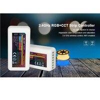 20PCS Mi boxer fut039 2.4G MiLight RGBWW (RGB+Cool White+Warm White) RGB+CCT Controller DC12 24V 2Ax5CH