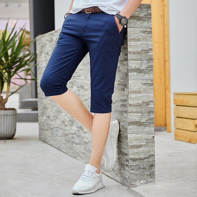 Shorts MEN'S Fifth Pants Summer Bib Overall Camouflage Sports Casual Pants Loose Popular Brand Thin Beach MEN'S Trousers