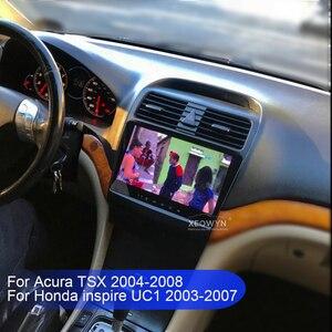 Image 3 - Rádio do núcleo de android 10.0 octa para tsx 2004 2008 1024*600 rádio do carro navegação gps wi fi carplay interno