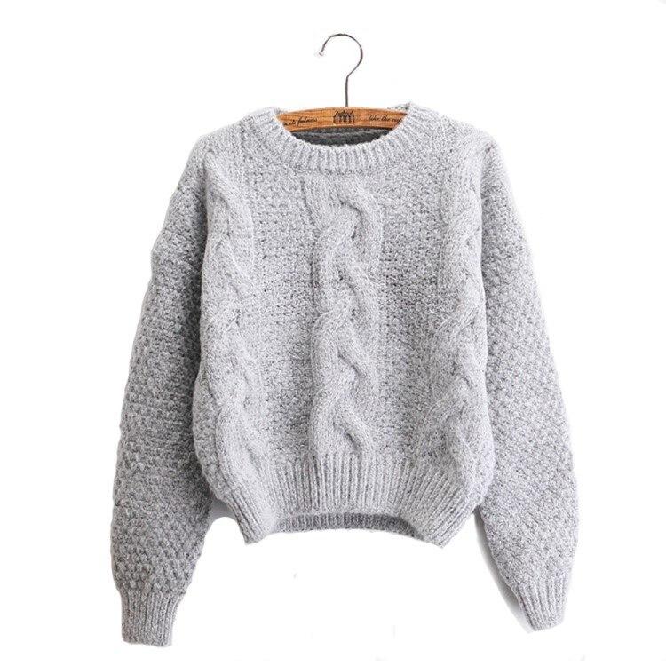 Neue 2019 mode warme winter pullover frauen pullover frauen vintage - Damenbekleidung - Foto 4