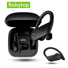 B5 TWS sans fil écouteurs Bluetooth 5.0 écouteur Sport oreille crochet écouteurs sans fil Bluetooth casque avec LED affichage boîte de charge