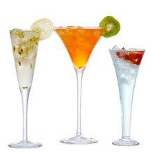 Хрустальный стакан шампанское стекло es Verre Mariage Свадебный креативный рожок высокие ноги мартини пузырь V Форма сладкое вино бокалы для коктейля