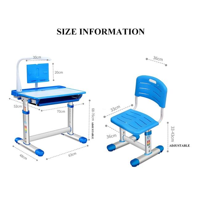 Children Desk and Chair Set 2