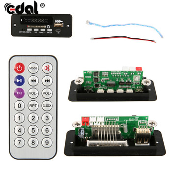 Multifunctional Wireless MP3 Player Decoder Board Audio Module USB TF Radio With Remote Controller For Car image