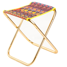 Portable Folding Camping Chair Outdoor Picnic Beach Stool W/ Storage Bag Durable