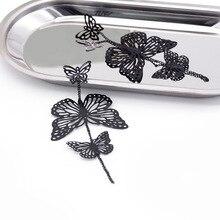 Statement Earrings Korean New Hollow Long Butterfly for Women Earings Fashion Jewelry Trend Layered