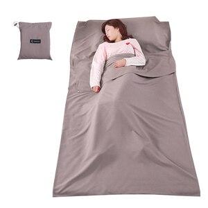 Image 5 - Sac de couchage léger doublure sac de couchage sac de couchage extérieur simple Double sac de couchage en plein air Camping hôtel feuille de voyage