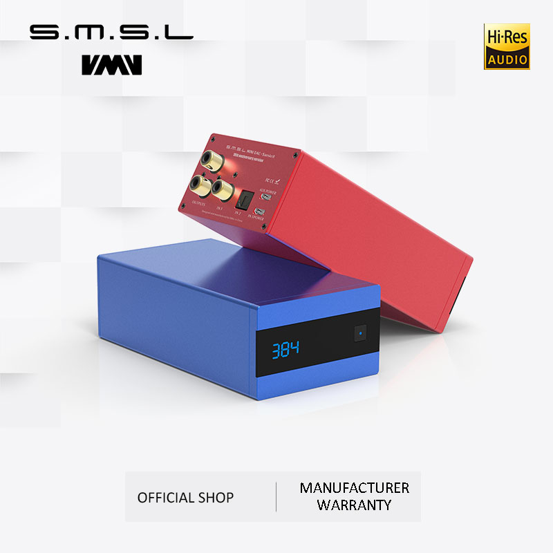 SMSL sanscrit 10th SK10 Hifi décodeur numérique AK4490 PCM384 DSD256 DAC pré-out accéléromètre Support OTG avec télécommande
