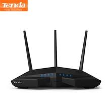 Tenda AC18 1900 Мбит/с двухдиапазонный гигабитный беспроводной WiFi маршрутизатор, WiFi повторитель, 1300 Мбит/с на 5 ГГц, 600 Мбит/с на 2,4 ГГц, USB 3,0