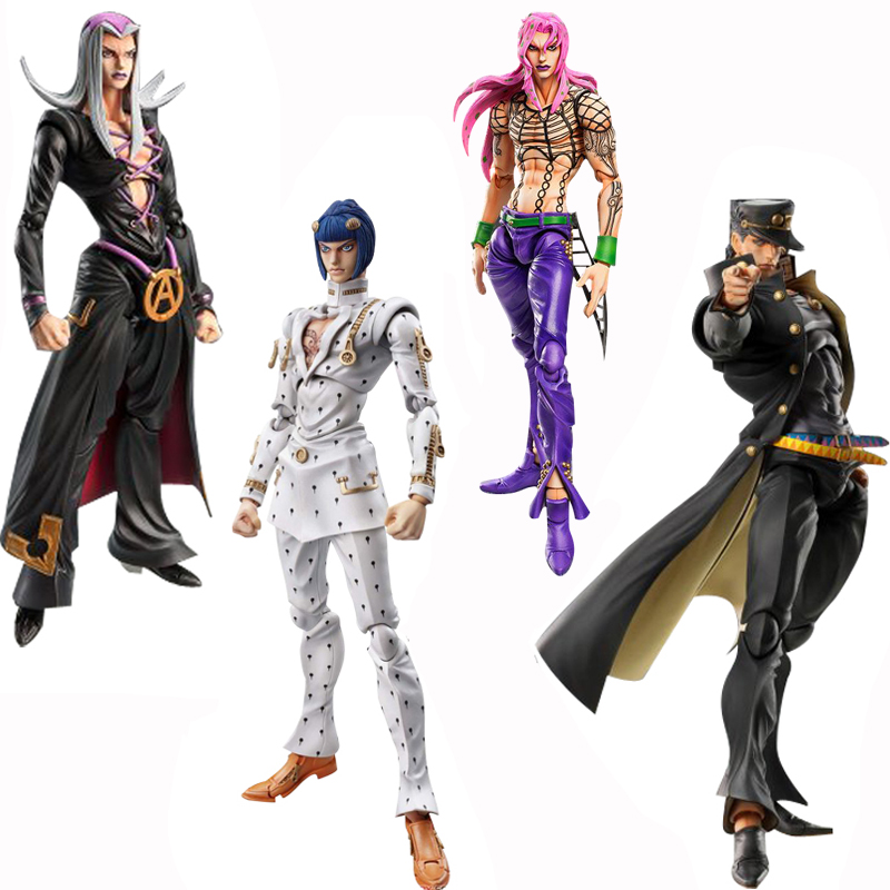 Anime JoJo's Bizarre Adventure PVC Action Figure Toy Johnny Yong Bosch Patrick Seitz Modle Doll Collection Toy Gifts 16cm
