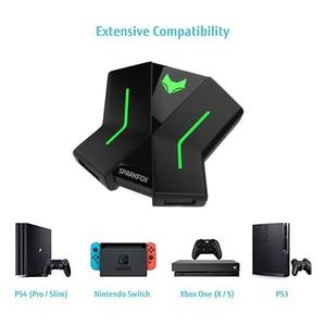 Image 2 - PS4 Xbox One สวิทช์ PS3 แป้นพิมพ์เมาส์ PC Converter Gamepad Controller อะแดปเตอร์ไฟ LED FPS TPS เกม RPG อุปกรณ์เสริม
