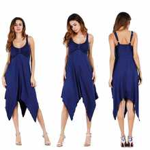 цена на 2019 Summer Woman Sexy Dress Beauty Women Solid Color Sling Open Back Deep V Sleeveless Dress Irregular Fork Party Dress