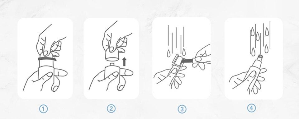 Xiaomi youpin nariz elétrico aparadores mini portátil