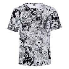 Ahegao 3D t shirt Summer 2019 anime top short sleeved fashio