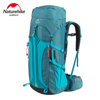 Naturehike Outdoor Hiking Backpack Professional Hiking Bag Camping Travel Backpacks Rucksack 45L 55L 65L with Rain cover