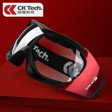 CK Tech. Schutzbrille Transparent Anti Fog Gläser Anti sand Winddicht Anti Staub Beständig Arbeiten Gläser Schutz Brillen