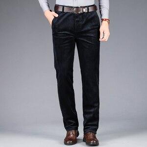 Image 5 - 2020 осень и зима новые мужские вельветовые повседневные брюки деловые модные высококачественные прямые Стрейчевые брюки мужские брендовые