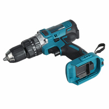 For Makita Battery 18V Electric Cordless Impact Drill Hammer Screwdriver 3-In-1 90N.m 1500 RPM Power Tools Cordless Impact Drill