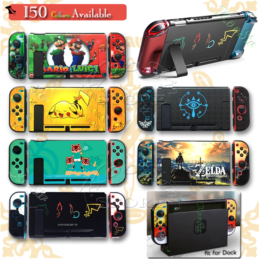 Nintendoswitch Hard Crystal Case Nitendo Nintend Switch Accessories Carrying Shell Cover for Nintendos Switch Skin Holder Bag(China)